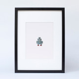 """Red Eyed Robot"" Ltd Ed Print"
