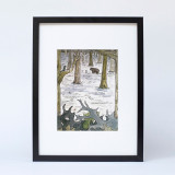 """Bear Wood"" Ltd Ed Print"