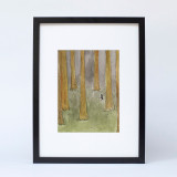 """Lumberjack Wood"" Ltd Ed Print"