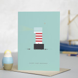 Lighthouse Age 1: Birthday Card