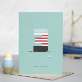 Lighthouse Age 3: Birthday Card