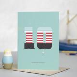 Lighthouse Age 10: Birthday Card