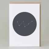 'Cassiopeia' Astronomy Card