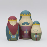 'Three Kings' Russian Dolls
