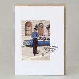 'Serpico' Wee Bean Man Card