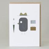 'Business Bird' Card