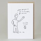 'When You Grow Up...' Card