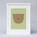 'The Sometimes Grumpy Bear' Print