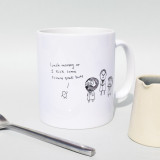 'Lunch Money or I Kick Some Science Geek Butt' Mug