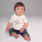 'In/Out' Fair Trade Baby Tshirt