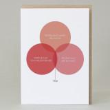 Love Venn Diagram Card