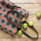 'Lumberjack' Check Shopper