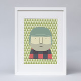'Little Lumberjack' Print