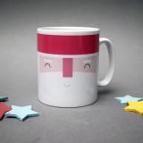Santa Face Christmas Mug