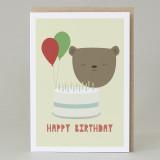 Bear Happy Birthday Card