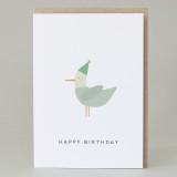'Happy Birthday' Seagull Card