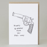 'Happy Birthday Punk' Card
