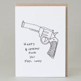 'Happy Birthday Punk' Card