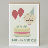 'Bon anniversaire' Card