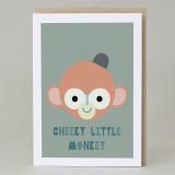 'Cheeky Monkey' Card