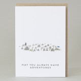'May you have adventures' Card