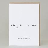 'Bon voyage' Small world Card