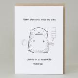 'Hamster's Paradise' Card