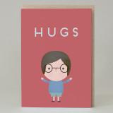 Hugs Boy Card