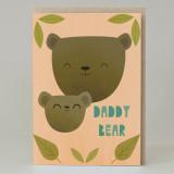 """""""Daddy Bear"""" Card"""