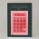 'Love calculator' Card