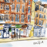 Camphill Gate Painting Small Print