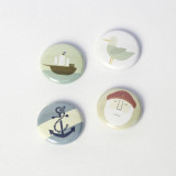 ALOTOW: Set of Four Badges