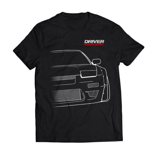 Driver Motorsports 180sx Mens T-Shirt in Black