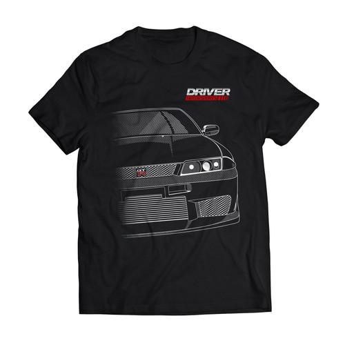 Driver Motorsports GTR Mens T-Shirt in Black