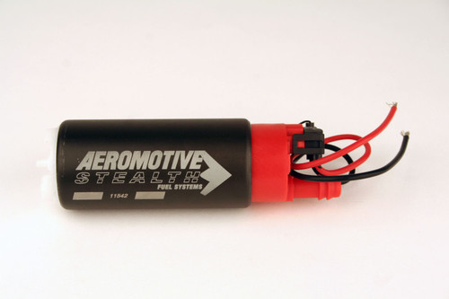 Aeromotive 340 Series Stealth In-Tank E85 Fuel Pump - Offset Inlet - Inlet Inline w/ Outlet