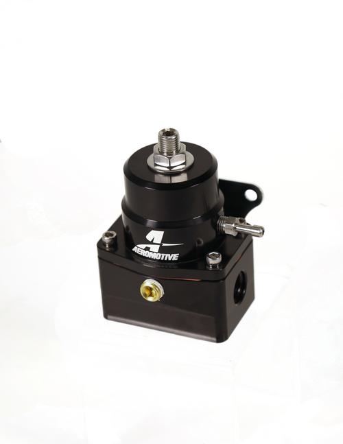 Aeromotive A1000-6 Injected Bypass Adjustable EFI Regulator (2) -6 Inlet/(1) -6 Return - Black