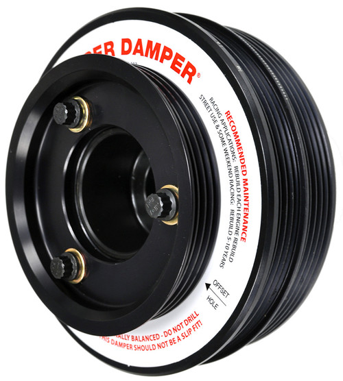 ATI Damper - 5.67in - Alum - (2) 4 & 5 Grv - Nissan - SR20 Rwd - Street - 1Pc