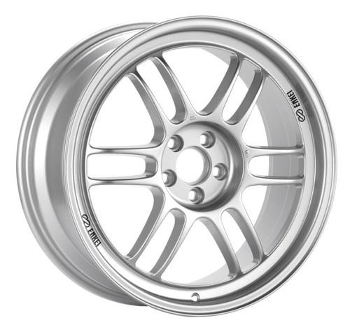 Enkei RPF1 17x9 5x114.3 45mm Offset 73mm Bore Silver Wheel RX8