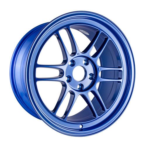 Enkei RPF1 18x9.5 5x114.3 38mm Offset 73mm Victory Bore Blue Wheel