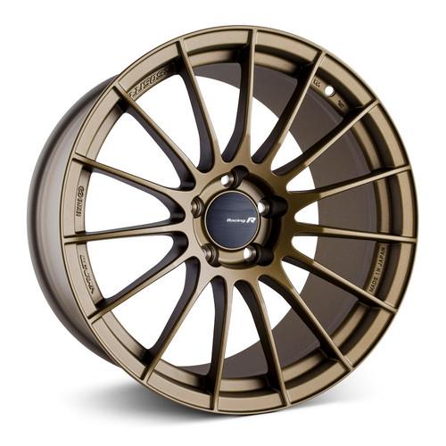 Enkei RS05-RR 18x9.5 22mm ET 5x114.3 75 Bore Titanium Gold Wheel