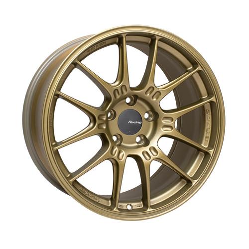 Enkei GTC02 18x9.5 5x114.3 40mm Offset 75mm Bore Titanium Gold Wheel