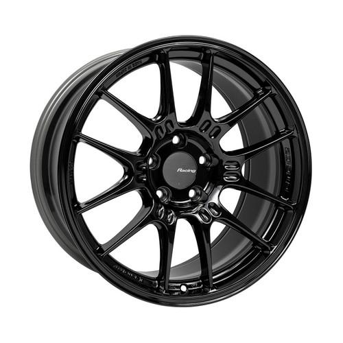 Enkei GTC02 18x9.5 5x114.3 40mm Offset 75mm Bore Gloss Black Wheel
