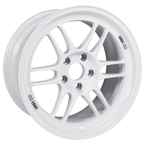 Enkei RPF1 17x9 5x114.3 22mm Offset 73mm Bore Vanquish White Wheel
