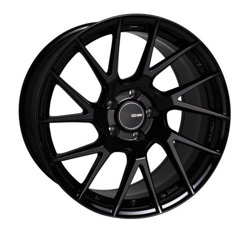 Enkei TM7 18x9.5 5x114.3 38mm Offset 72.6mm Bore Gloss Black Wheel