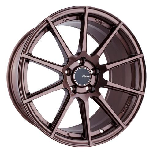 Enkei TS10 18x9.5 35mm Offset 5x114.3 Bolt Pattern 72.6mm Bore Dia Copper Wheel