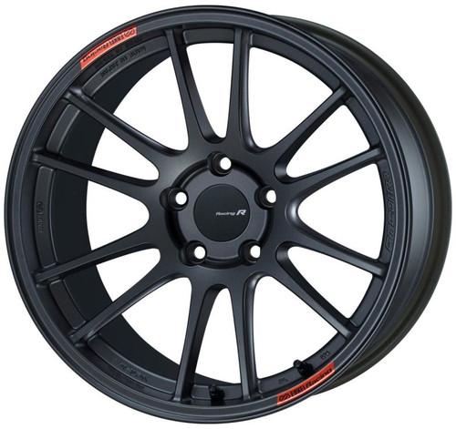 Enkei GTC01RR 18x9.5 5x114.3 35mm Offset Matte Gunmetallic Wheel (Will not fit STI)