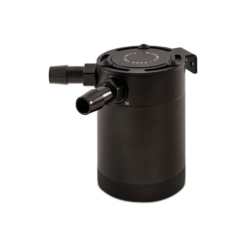 Mishimoto Compact Baffled Oil Catch Can - 2-Port
