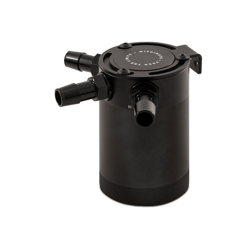 Mishimoto Compact Baffled Oil Catch Can - 3-Port