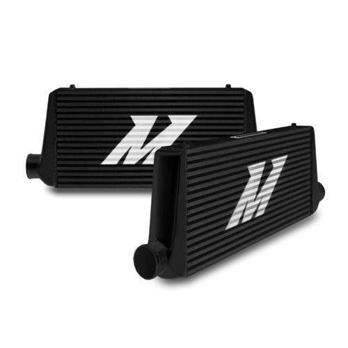 Mishimoto Universal Black S Line Intercooler Overall Size: 31x12x3 Core Size: 23x12x3 Inlet / Outlet