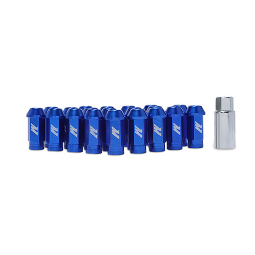 Mishimoto Aluminum Locking Lug Nuts M12 x 1.25 - Blue